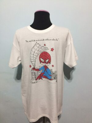 Camiseta Spiderman.