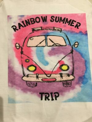 Camiseta tirantes RAINBO SUMMER.