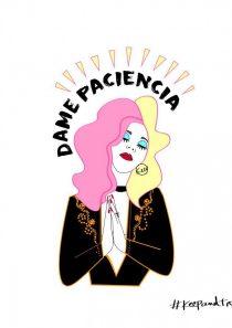 """Vestido """" DAME PACIENCIA""""."""