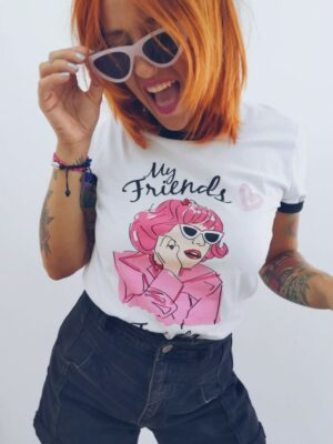 CAMISETA FRENCHY GREASE
